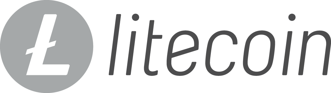The logo for Litecoin, the silver to Bitcoin's gold