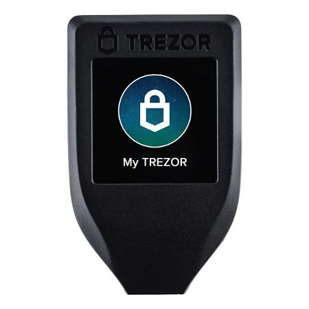 A Trezor Model T hardware wallet is the best way to keep your crypto safe.