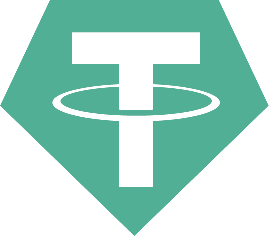 Tether (USDT) is the most well known stablecoin and is among the top cryptocurrencies overall. By Tether Operations Limited.